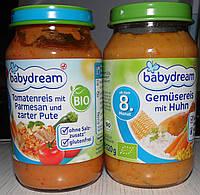 Детские пюре BabyDream, 220 гр. Германия