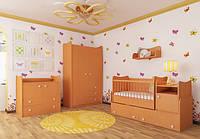 Детская кроватка-трансформер КТ-М
