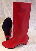 Сапоги народные женские красные, фото 1