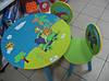 Набор детской мебели «Сафари» Е 03-1145 круглый столик и два стульчика. КИЕВ