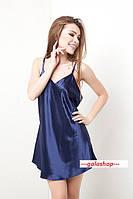 Пеньюар женский атлас, ночная сорочка, ночная рубашка шелк. Розница, опт в Украине.