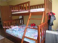 Двухъярусная кровать Жасмин 120