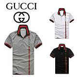 Gucci мужская футболка поло гуччи купить в Украине, фото 2