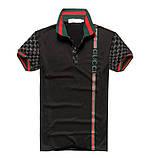 Gucci мужская футболка поло гуччи купить в Украине, фото 4