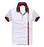 Gucci мужская футболка поло гуччи купить в Украине, фото 5