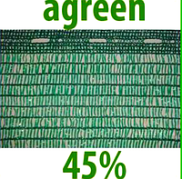 "Сетка затеняющая ""Agreen"" 4х10м 45% .Упаковка."