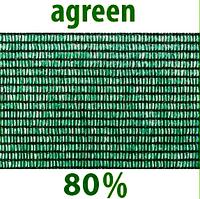 "Сетка затеняющая ""Agreen"" 4х10м 80% .Упаковка."
