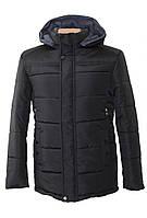 Зимняя мужская теплая куртка батал