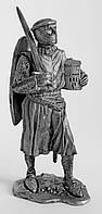 Оловянный солдатик. Рыцарь крестоносец. Святая Земля 1130 г.