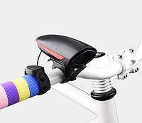 Велосипедный аккумуляторный электронный звонок с выносной кнопкой 7566, фото 1