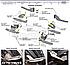 Штатные подножки для SsangYong Rexton W с окантовкой из нержавейки (стиль Range Rover Sport), фото 2