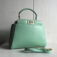 Женская сумка Fendi Peekaboo mini original quality