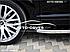 Штатные боковые подножки Toyota Highlander с окантовкой из нержавейки (стиль RangeRover Sport), фото 3