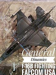 Літак General Dinamics F-16B Fighting Falcom USA