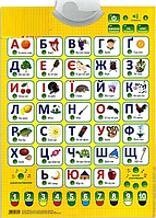 Плакат говорящий Азбука Букваренок 7031