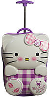 2-х колесный Чемодан для Принцессы Suitcase Hello Kitty violet