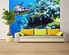 """Фотообои """"Акула и кораллы"""""""