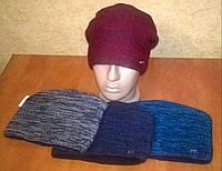 Подростковая зимняя шапка для мальчика на флисе