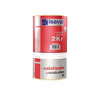 Эмаль полиуретановая 2-х компонентная  2КР ISAVAL  0,75л