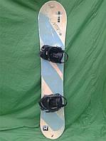 Сноуборд Nitro 147 см + кріплення