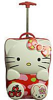 2-х колесный Чемодан для Принцессы Suitcase Hello Kitty red