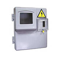 Ящик пластиковый, герметичный под 1ф. Счетчик (Одесса)