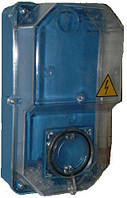 Ящик пластиковый, герметичный под 1ф. Механ.счетчик (Черновцы)