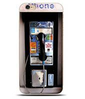 Оригинальный чехол панель накладка для Iphone 3g / 3gs с картинкой Телефон