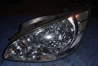 Фара лев электр коррект 05-HyundaiGetz2002-2010921010B50, 921010B510, 921011C510, Taiwan