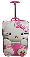 2-х колесный Чемодан для Принцессы Suitcase Hello Kitty