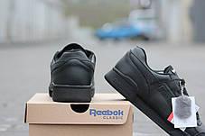 Мужские модные кроссовки черные Reebok/ кроссовки теплые мужские Рибок, натуральный мех, 2016-2017, фото 3