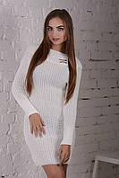Платье Брошка / белый