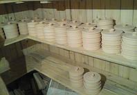 Проращиватель для пшеницы, натуральная глина. 17см