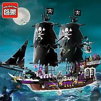 Конструктор Пиратский корабль скелетов 1535 дет Brick 1313