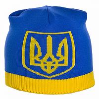 Мужская шапка с символикой Украины