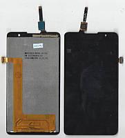 Дисплей + сенсор Lenovo S898t / S898t+ чёрный