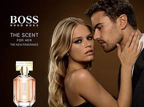 Hugo Boss The Scent For Her парфюмированная вода 100 ml. (Тестер Хуго Босс Зе Сент Фор Хё), фото 3