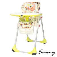 Кресло для кормления высокое Polly 2 в 1 ТМ CHICCO Sunny Италия