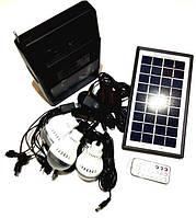 Портативная универсальная солнечная систем GDLITE GD-8126, резервное освещение, светотехника