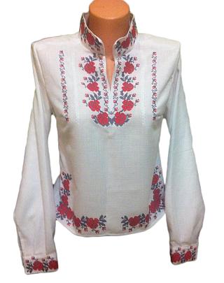 "Вишита жіноча блузка ""Молліс"" (Вышитая женская блузка ""Моллис"") BT-0004"