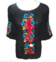 """Жіноча вишита блузка """"Мейбі"""" (Женская вышитая блузка """"Мейби"""") BT-0005"""