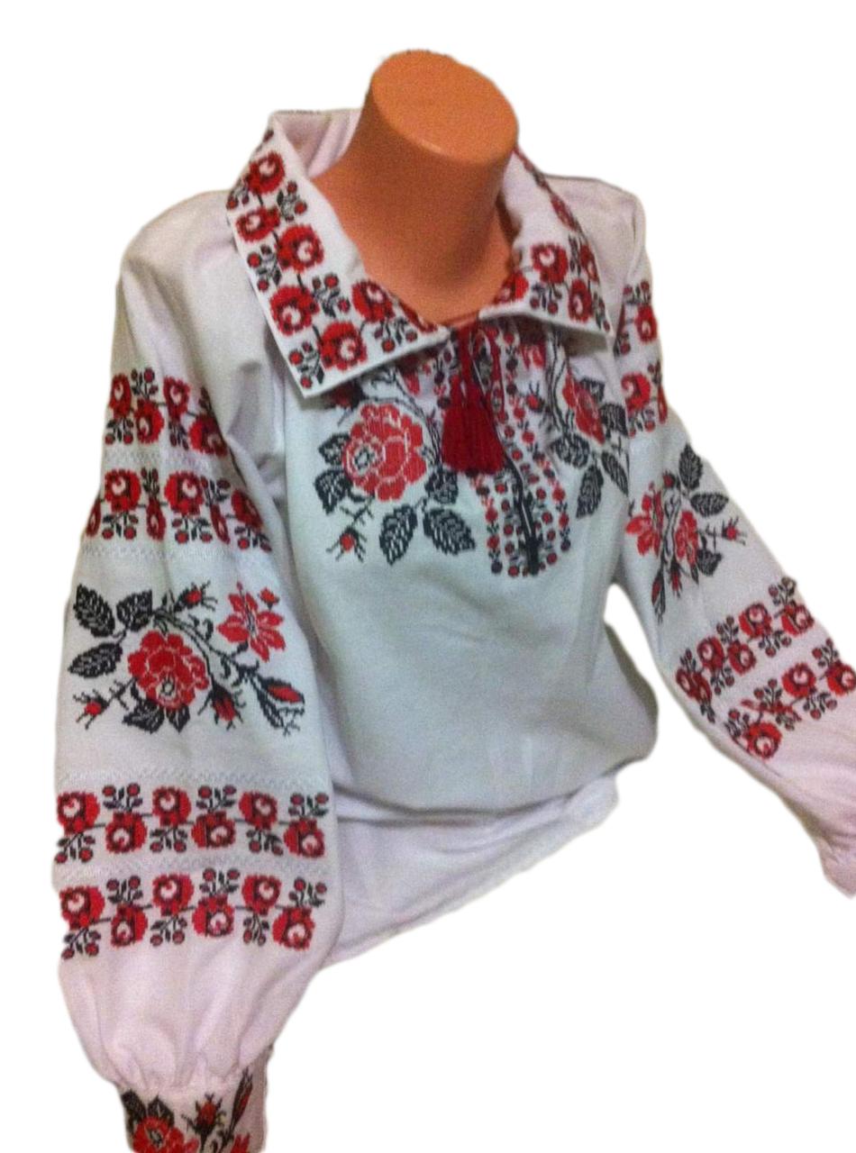 """Женская вышитая рубашка """"Лорри"""" BT-0010"""