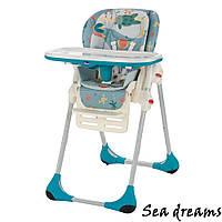 Кресло для кормления высокое Polly 2 в 1 ТМ CHICCO Sea Dreams Италия