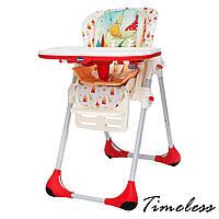 Кресло для кормления высокое Polly 2 в 1 ТМ CHICCO Timeless Италия