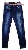 Джинсовые брюки для девочек оптом , Seagul,134-164 рр., арт. CSQ-88985