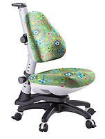 Кресло ортопедическое растущее КУ-318 Comf-pro Goodwin Зеленое с мячами
