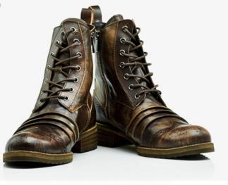 Мужские кожаные сапоги 38-41,43 Модель 979