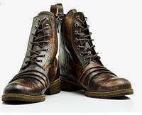 Мужские кожаные сапоги 38-41,43 Модель 979, фото 1