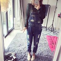 Комбинезон женский джинсовый W51
