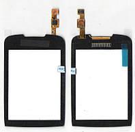Сенсор Samsung S3850 чёрный